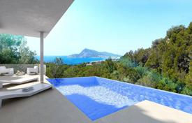 4 bedroom houses for sale in Alicante. Luxury villa with sea views in Altea hills