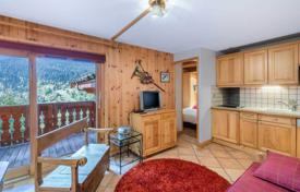 1 bedroom apartments for sale in Les Allues. Apartment with mountain views and a parking space, Méribel, Savoie, France