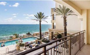 Studio apartment with an ocean view in an elite condominium, Fort Lauderdale, Florida, USA for 379,000 $