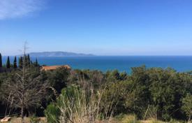 Development land for sale in Tuscany. Plot of land in a fantastic panoramic position only few minutes from Porto Santo Stefano