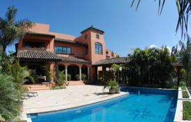 Residential for sale in Costa Rica. Colonial view home for sale in Santa Ana gated community
