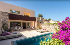 Residential for sale in Ibiza. Two-level villa with a pool, next to the golf course, Ibiza, Balearic Islands, Spain