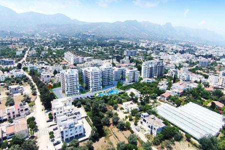 Property for sale in Kyrenia. Modern apartment complex in the center of Kyrenia