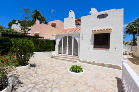 Coastal townhouses for sale in Costa Blanca. Terraced house – Calpe, Valencia, Spain