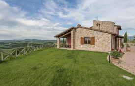 Houses for sale in Perugia. Charming stone villa with a large garden of 5000 m² and a breathtaking view