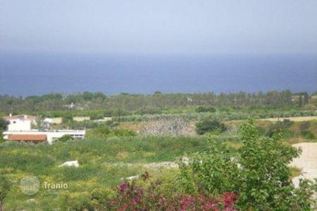 Development land for sale in Tala. Plot Of Land Uniterrupted Sea Views — Lofos