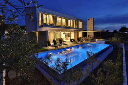 Luxury residential for sale in Split-Dalmatia County. Modern luxury villa 230 meters from the sea on the island of Brac