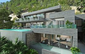 Luxury houses with pools for sale in Benissa. Luxury three-storey villa with sea view, Benissa, Valencia, Spain