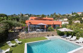 Luxury houses with pools for sale in Vallauris. Contemporary villa with beautiful views, Vallauris, France