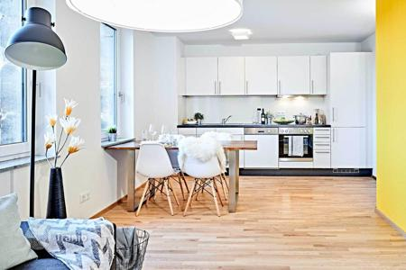 Off-plan residential for sale in Bavaria. Two-bedroom apartment in a new condominium, Nurenberg, Germany. Yield of 4.1%