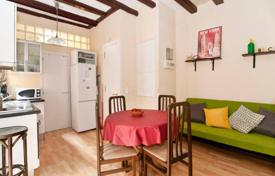 Cheap apartments for sale in Barcelona. Furnished one-bedroom apartment only 350 meters from the beach Barceloneta, in the center of Barcelona. High rental potential!