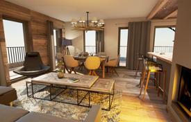 3 bedroom apartments for sale in Auvergne-Rhône-Alpes. Duplex apartment with a terrace, in a new residence, next to the ski lift, in the center of the resort of Chamonix, Alpes, France