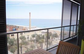 Apartments with pools for sale in Badalona. Penthouse for sale with an exclusive design, on the first seafront with stunning sea views