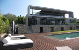 Luxury 6 bedroom houses for sale in Muan-Sarthe. Modern villa with a private plot, a swimming pool, a terrace, a summer kitchen and a garage, in a prestigious area, Mouans-Sartoux, France