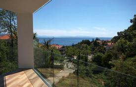 "Coastal apartments for sale in Primorje-Gorski Kotar County. Spacious apartment with panoramic sea views in the new building of ""lux"" class in respectable resort Icici, Opatija"