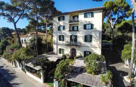 Property for sale in Tuscany. Hotel in the historic building in a pine grove on the shore of the Tyrrhenian Sea, Tuscany