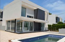 Houses for sale in La Nucia. New two-level villa overlooking the mountains in La Nucia, Alicante, Spain