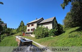 Property for sale in Tolmin. This is a lovely stone house near Šentviška Gora