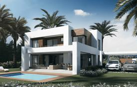 Houses for sale in El Paraíso. Modern villas in El Paraíso, Spain. New residential complex with a garden, swimming pools and golf courses