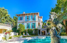 5 bedroom houses for sale in Roquebrune - Cap Martin. Spacious stone mansion of the XIX century, with a private park, a swimming pool, a gym, and a sauna, in Cap Martin, France