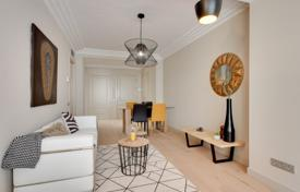 Luxury 3 bedroom apartments for sale in Catalonia. Two-level penthouse with four terraces in an old fashioned building in the center of Barcelona, Spain