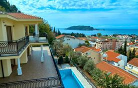 Luxury property for sale in Budva. Three-storey villa with pool and panoramic views of the sea in Budva, Montenegro