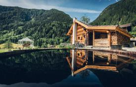Property for sale in Carinthia. New lake chalet with a sauna and a view of the mountains, near a ski resort, Flattach, Austria