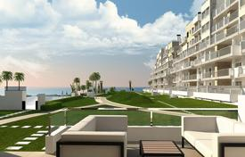 Cheap new homes for sale in Costa Blanca. Apartment with terrace in new building, on the first line, in Mil Palmeras, Spain