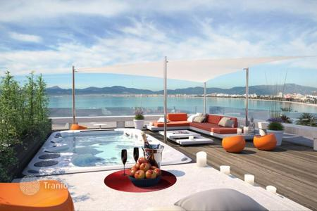 New homes for sale in Balearic Islands. Modern apartment in new residence on the sea in Palma de Mallorca, Mallorca, Balearic Islands, Spain