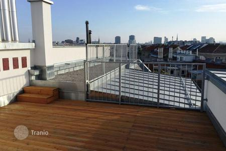 Apartments for sale in Leopoldstadt. Exclusive duplex penthouse with high quality finishes near the center of Vienna