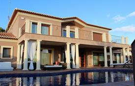 3 bedroom houses for sale in Moraira. Two-level villa in classical style with sea views in Moraira, Alicante, Spain