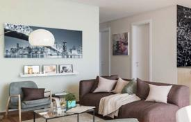 Residential for sale in Germany. Modern apartments in a new small apartment complex in the picturesque green district of Altglienicke, Treptow-Köpenick, Berlin
