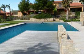3 bedroom houses for sale in Catalonia. Furnished villa with a pool, a garden and sea and mountain views, Mont Roig del Camp, Spain