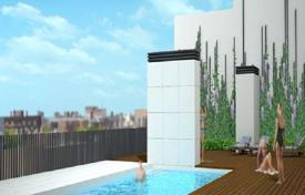 Apartments for sale in L'Eixample. Four-room apartment in a new residential complex with swimming pool and parking in the center of Barcelona, Eixample district