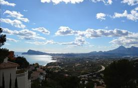 Development land for sale in Altea. Building plot with sea and mountain views in Altea, Alicante, Spain