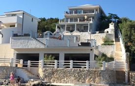 Houses with pools for sale in Rogoznica. Comfortable villa with three terraces, a pool and sea views, near the beach, Rogoznica, Šibensko-Knin County, Croatia