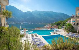2 bedroom apartments by the sea for sale in Kotor. Spacious apartment with astonishing view of the Boko-Kotor Bay