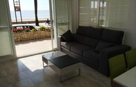 Coastal residential for sale in Catalonia. Furnished apartment on the seafront in Salou, Costa Dorada