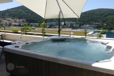 Residential for sale in Dubrovnik Neretva County. High-end apartment with a garden, hot tub and sea view in Dubrovnik, Croatia