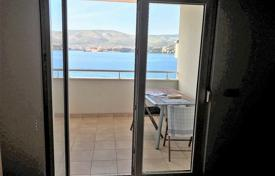1 bedroom apartments by the sea for sale in Croatia. Furnished apartment with a parking, a loggia and a sea view, Ciovo, Croatia