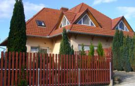 Townhouses for sale in Hungary. Two-level house with a pool and a garden in Heviz, Hungary
