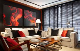 New homes for sale in Catalonia. Four-bedroom apartment in a new residential complex in Barcelona, Eixample district