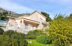 Luxury residential for sale in Cap d'Ail. Stone villa with terraces, a garage, a garden and a sea view, Cap d'Ail, France