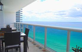 Four-room apartment on the first line of the ocean in Hallandale Beach, Florida, USA for $899,000