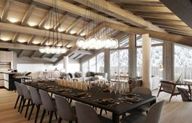 Luxury 6 bedroom apartments for sale in Europe. Modern duplex in a new residence, in the center of a ski resort, next to the slopes, Tignes, France