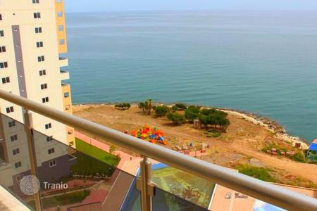 New home from developers for sale in Western Asia. Apartment in Turkey, Mersin 1st line. Free tour for viewing, free shuttle service to the owners of the airport and back every day!