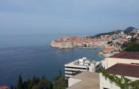 Coastal new homes for sale in Croatia. New two-level apartment with panoramic views of the sea and Old Town of Dubrovnik
