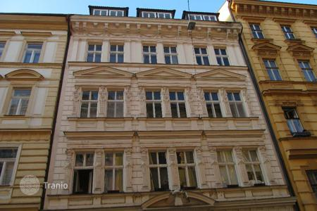 Commercial property (redevelopment) for sale overseas. Renovated apartment house in central Prague