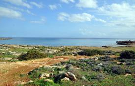 Coastal land for sale in Protaras. BEACH FRONT PLOT OF LAND