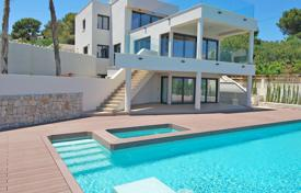 Luxury 3 bedroom houses for sale in Moraira. Luxury villa with a panoramic sea view, a gym and a cinema on the first sea line, Moraira, Spain